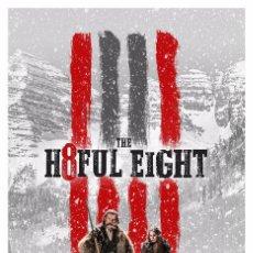 Cine: THE H8FUL EIGHT. LOS ODIOSOS OCHO. LÁMINA CARTEL 45 X 32 CMS.. Lote 54253777