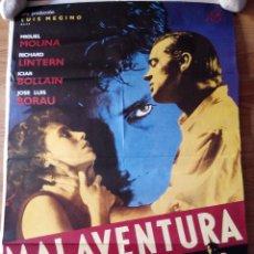 Cine: MALAVENTURA - APROX 70X100 CARTEL ORIGINAL CINE (L16). Lote 54300987