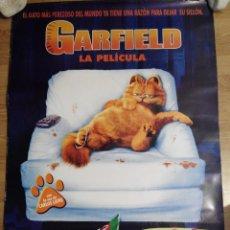 Cine: GARFIELD - APROX 70X100 CARTEL ORIGINAL CINE (L17). Lote 54310803