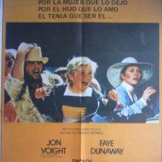 Cine: CAMPEON, JON VOIGHT, FAYE DUNAWAY, RICKY SCHRODER, POSTER, CARTEL CINE, AÑO 1979. Lote 54367063