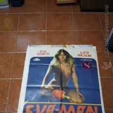 Cine: CARTEL CINE EROTICO EVA MAN. Lote 54448544