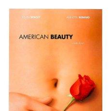 Cine: AMERICAN BEAUTY. LÁMINA CARTEL DE CINE 45 X 32 CMS.. Lote 54554520