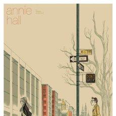 Cine: ANNIE HALL. LÁMINA CARTEL DE CINE 45 X 32 CMS.. Lote 141362349
