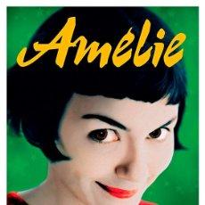 Cine: AMELIE. LÁMINA CARTEL DE CINE 45 X 32 CMS.. Lote 139784312