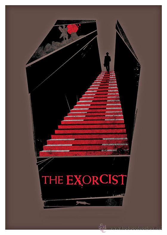 THE EXORCIST. EL EXORCISTA. LÁMINA CARTEL 45 X 32 CMS. (Cine - Posters y Carteles - Terror)