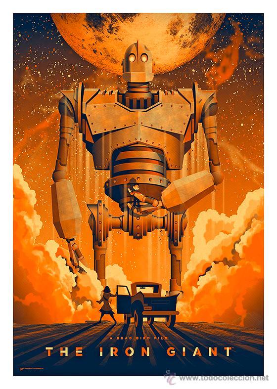 El gigante de hierro iron giant l mina cartel comprar - Lamina de hierro ...
