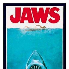 Cine: TIBURÓN. JAWS. LÁMINA CARTEL 45 X 32 CMS. Lote 165186560