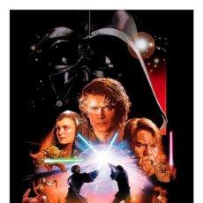 Cinema: STAR WARS III. LA VENGANZA DE LOS SITH. LÁMINA CARTEL 45 X 32. Lote 212689077