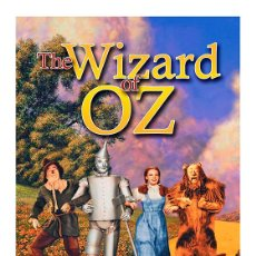 Cine: EL MAGO DE OZ. THE WIZARD OF OZ. LAMINA CARTEL DE CINE 45 X 32 CMS. Lote 152840022