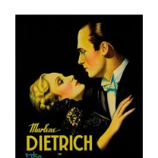 Cine: MARLENE DIETRICH IN THE SONG OF SONGS. LÁMINA CARTEL 45 X 32 CMS. Lote 67921639