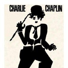 Cine: CHARLIE CHAPLIN. CHARLOT. LAMINA CARTEL 45 X 32. Lote 54657027