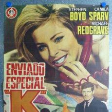 Cine: ENVIADO ESPECIAL K - STEPHEN BOYD, CAMILA SPARV, MICHAEL REDGRAVE - AÑO 1967. Lote 54693274
