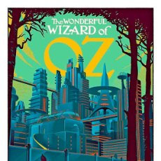 Cine: LÁMINA CARTEL DE CINE THE WIZARD OF OZ, EL MAGO DE OZ. 1939. 45 X 32 CMS.. Lote 59923569