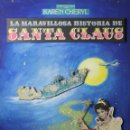 Cine: G3-025. LA MARAVILLOSA HISTORIA DE SANTA CLAUS. CARTEL EN MADERA. COMPOSICION. 1984.. Lote 53100677