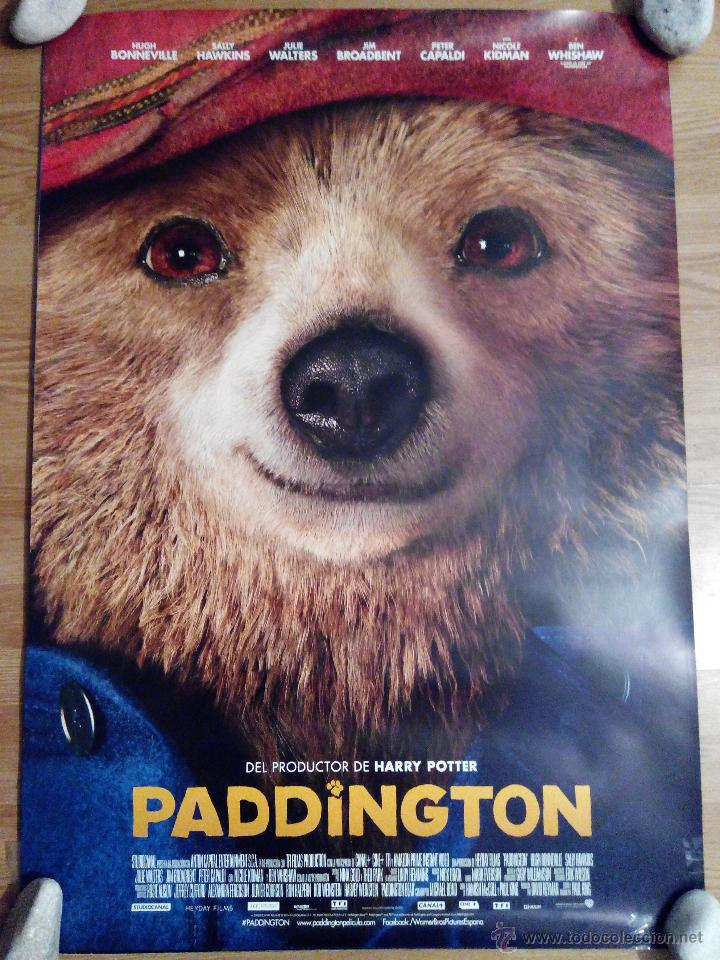 Cine: Paddington- aprox 70x100 Cartel ORIGINAL cine (L19) - Foto 1 - 54825308