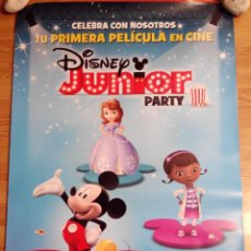 Cine: DISNEY JUNIOR PARTY - APROX 70X100 CARTEL ORIGINAL CINE (L19). Lote 54854891