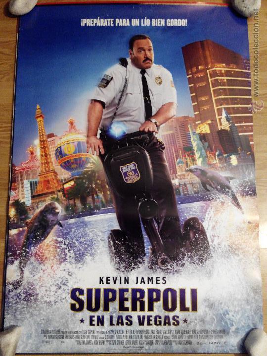 SUPERPOLI - APROX 70X100 CARTEL ORIGINAL CINE (L19) (Cine - Posters y Carteles - Comedia)