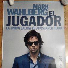 Cine: EL JUGADOR - APROX 70X100 CARTEL ORIGINAL CINE (L20). Lote 54864678