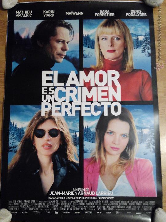 EL AMOR ES UN CRIMEN PERFECTO - APROX 70X100 CARTEL ORIGINAL CINE (L20) (Cine- Posters y Carteles - Drama)