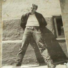 Cine: POSTER -CARTEL- DE JAMES DEAN EN BLANCO Y NEGRO DEL AÑO 1981 DE NEW YORK. Lote 54887211