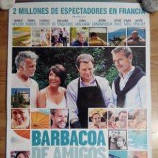 Cine: BARBACOA DE AMIGOS - APROX 70X100 CARTEL ORIGINAL CINE (L20). Lote 54897048