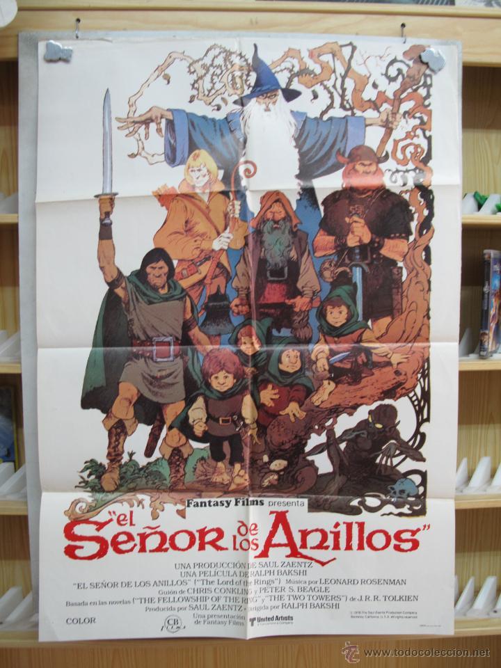 C2118 EL SEÑOR DE LOS ANILLOS (Cine - Posters y Carteles - Aventura)