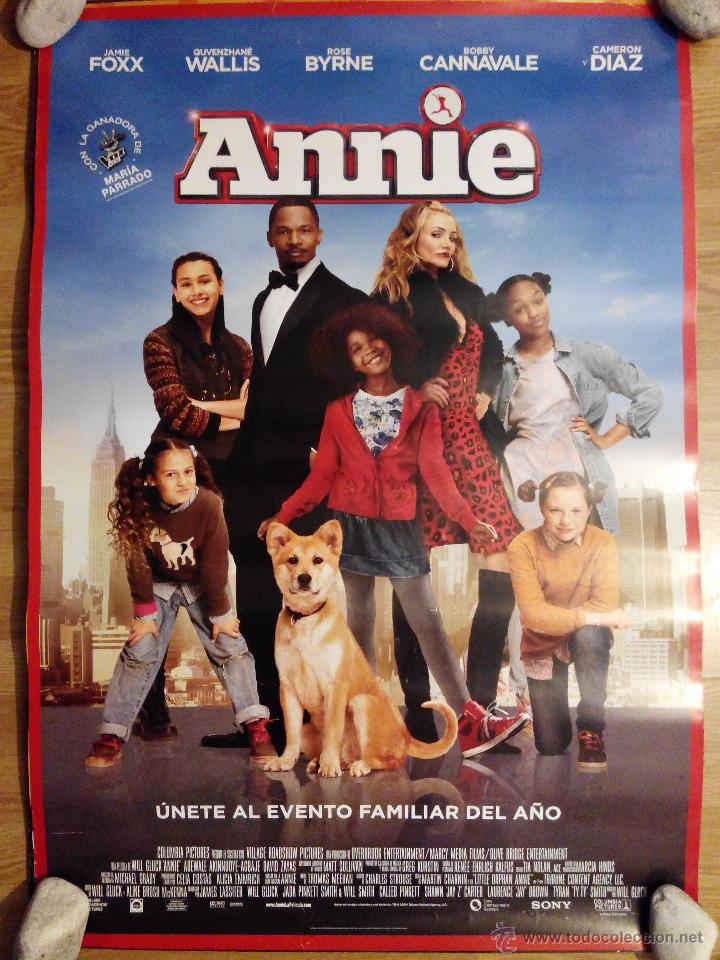 ANNIE - APROX 70X100 CARTEL ORIGINAL CINE (L20) (Cine - Posters y Carteles - Musicales)