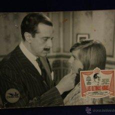 Cine: CARTELERA CINE LOBBY CARD ULTIMAS HORAS PICAZO ALFONSO SANTOS ALCOCER HISPAMER CEPICSA 29X38,8CMS. Lote 55004434