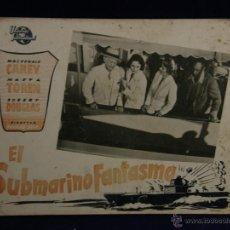 Cine: CARTELERA CINE LOBBY CARD SUBMARINO FANTASMA CAREY TOREN DOUGLAS SRIK 29,3X39,3CMS. Lote 55004772