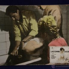 Cine: CARTELERA CINE LOBBY CARD LACOMBE LUCIEN MALLE TODOS NO FUERON HEROES 28,3X38,3CMS. Lote 55004830
