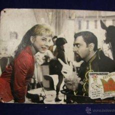 Cine: CARTELERA CINE LOBBY CARD SU ALTEZA LA NIÑA ESTRELLITA OZORES MONTES DALBES ORJAS 29X38,5CMS. Lote 55038388