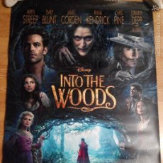 Cine: INTO THE WOODS V2- APROX 70X100 CARTEL ORIGINAL CINE (L22). Lote 55143344