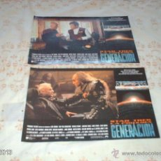 Cine: DOS FOTOGRAMAS CARTELES DE STAR TREK, NUEVA GENERACIÓN. Lote 55176844