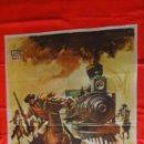 Cine: EL ROBO AL TREN CORREO, POSTER 70X100CMS, CARLOS CORTEZ NOE MURAYAMA, 1965. Lote 55261879