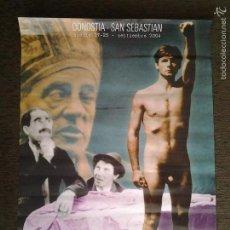Cine: CARTEL OFICIAL 52 EDICIÓN DEL FESTIVAL DE CINE DE SAN SEBASTIAN (DONOSTI), 2004-SECCIÓN INCORRECT@S. Lote 55372777