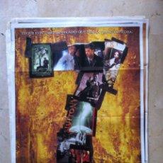 Cine: POSTER SEVEN 70X100 CARTEL ORIGINAL CINE RARO - BRAD PITT. Lote 55382686