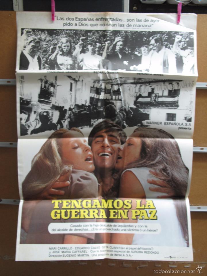 GNA1620 TENGAMOS LA GUERRA EN PAZ (Cine - Posters y Carteles - Comedia)
