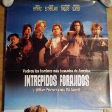 Cine: INTRÉPIDOS FORAJIDOS - APROX 70X100 CARTEL ORIGINAL CINE (L23). Lote 55588503