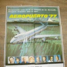 Cine: CARTEL AEROPUERTO 77 (1977) JACK LEMON, JAMES STEWART. Lote 55673416