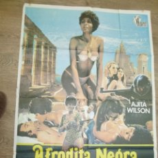 Cine: CARTEL AFRODITA NEGRA (1977) AJITA WILSON CLASIFICADA S. Lote 55703869