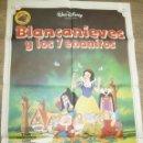 Cine: CARTEL BLANCANIEVES Y LOS 7 ENANITOS (1983) DISNEY. Lote 55711701