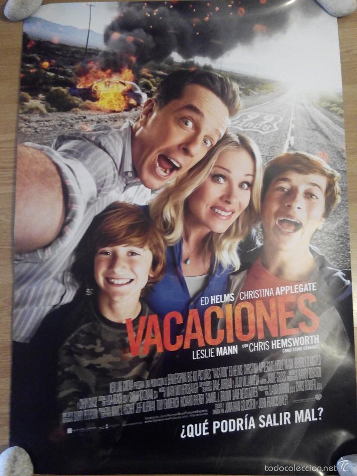 VACACIONES - APROX 70X100 CARTEL ORIGINAL CINE (L24) (Cine - Posters y Carteles - Comedia)