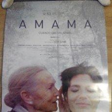 Cinéma: AMAMA - APROX 70X100 CARTEL ORIGINAL CINE (L24). Lote 100764314
