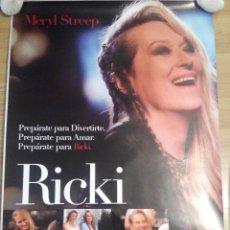 Cine: RICKI - APROX 70X100 CARTEL ORIGINAL CINE (L24). Lote 55795390