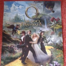 Cine: OZ : UN MUNDO DE FANTASÍA ** OZ THE GREAT AND POWERFUL ** POSTER PLEGADO 50 X 70 ** SPAIN. Lote 55844726