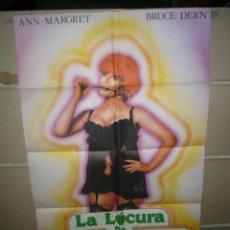 Cine: LA LOCURA DE LA EDAD MADURA POSTER ORIGINAL 70X100 YY (1276). Lote 55887697