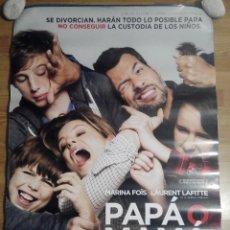 Cine: PAPA O MAMA - APROX 70X100 CARTEL ORIGINAL CINE (L25). Lote 55937575