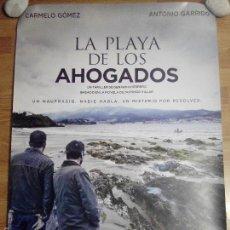 Cine: LA PLAYA DE LOS AHOGADOS - APROX 70X100 CARTEL ORIGINAL CINE (L25). Lote 191220205