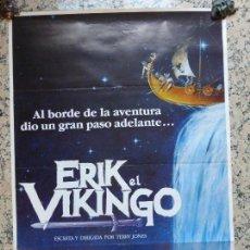 Cine: ERIK EL VIKINGO, CARTEL POSTER ORIGINAL DE LA PELÍCULA , 70 X 100 CM. Lote 56016353