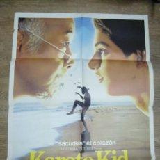 Cine: CARTEL DE KARATE KID (1984) RALPH MACCHIO, PAT MORITA. Lote 56261429